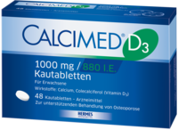 CALCIMED D3 1000 mg/880 I.E. Kautabletten