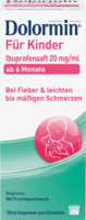 DOLORMIN für Kinder Ibuprofensaft 20 mg/ml Susp.