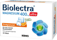 BIOLECTRA Magnesium 400 mg ultra Trinkgran.Orange